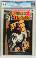 Bronze Age (1970-1979):Horror, House of Secrets #94 (DC, 1971) CGC NM 9.4 White pages....