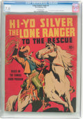 Golden Age (1938-1955):Western, Large Feature Comic (Series I) #7 Hi-Yo Silver The Lone Ranger tothe Rescue (Dell, 1939) CGC FN/VF 7.0 Off-white pages....