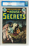 Bronze Age (1970-1979):Horror, House of Secrets #106 (DC, 1973) CGC NM 9.4 Off-white to whitepages....