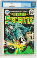 Bronze Age (1970-1979):Horror, House of Secrets #127 (DC, 1975) CGC NM 9.4 White pages....