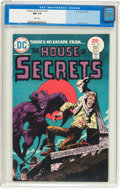 Bronze Age (1970-1979):Horror, House of Secrets #129 (DC, 1975) CGC NM 9.4 White pages....