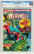 Bronze Age (1970-1979):Horror, Werewolf by Night #15 (Marvel, 1974) CGC NM 9.4 Cream to off-whitepages....