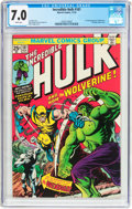 Bronze Age (1970-1979):Superhero, The Incredible Hulk #181 (Marvel, 1974) CGC FN/VF 7.0 Whitepages....