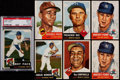 Baseball Cards:Lots, 1953 Topps Baseball Card Collection (32) With Paige and a DozenHigh-Numbers. ...