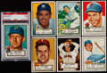 Baseball Cards:Lots, 1952 Topps Baseball Collection (64 Different). ...