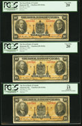 Canadian Currency: , Montreal, PQ- Royal Bank of Canada $10 Jan. 2, 1935 Ch. #630-18-04a Three Examples.. ... (Total: 3 notes)