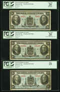 Canadian Currency: , Montreal, PQ- Royal Bank of Canada $20 Jan. 2, 1935 Ch. #630-18-06a Three Examples.. ... (Total: 3 notes)