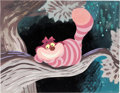 Animation Art:Production Drawing, Alice in Wonderland Cheshire Cat Painted Illustration (WaltDisney, c. 1950s)....
