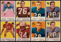 Football Cards:Lots, 1959 Topps Football Collection (106). ...