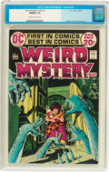 Bronze Age (1970-1979):Horror, Weird Mystery Tales #1 (DC, 1972) CGC NM/MT 9.8 Off-white to whitepages....