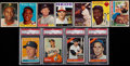 Baseball Cards:Lots, 1954 Through 1966 Topps Hall Of Fame Collection (11)....