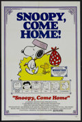 "Movie Posters:Animated, Snoopy, Come Home (National General, 1972). One Sheet (27"" X 41""). Animated Comedy. Starring the voices of Bill Melendez, Ch..."