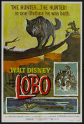 """Movie Posters:Adventure, The Legend of Lobo (Buena Vista, R-1972). One Sheet (27"""" X 41"""").Adventure. Narrated by Rex Allen and featuring the music of..."""