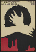 """Movie Posters:Romance, Far from the Madding Crowd (CWF, 1967). Polish Poster (22.75"""" X 33""""). Romance. Starring Julie Christie, Terence Stamp, Peter..."""