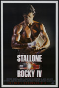 "Movie Posters:Action, Rocky IV (United Artists, 1985). One Sheet (27"" X 41"") Advance. Sports Drama. Starring Sylvester Stallone, Talia Shire, Burt..."