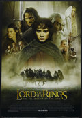 "Movie Posters:Fantasy, The Lord of the Rings: The Fellowship of the Ring (New Line, 2001).One Sheet (27"" X 41""). Fantasy Adventure. Starring Elija..."