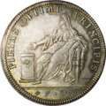 Italy: , Italy: Venice. Paolo Renier Silver Osella 1783-FD, Paolucci 266,choice UNC with wonderful blue, green and gold toning. Obverse:PI...
