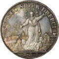 Italy: , Italy: Venice. Lodovico Manin Silver Osella 1793-ZAB, Paolucci 276,prooflike UNC, superb multi-hued patina and particularly well-s...