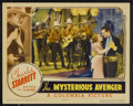 "Movie Posters:Western, The Mysterious Avenger (Columbia, 1936). Lobby Card (11"" X 14""). Western. Starring Charles Starrett, Joan Perry, Wheeler Oak..."
