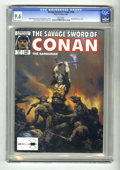 Magazines:Superhero, Savage Sword of Conan #148 (Marvel, 1988) CGC NM+ 9.6 White pages....
