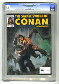 Magazines:Miscellaneous, Savage Sword of Conan #157 (Marvel, 1989) CGC NM/MT 9.8 Whitepages. Bruce Jones art. Dorian cover. Red Sonja backup story. ...