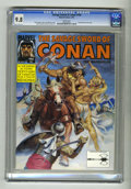 Magazines:Miscellaneous, Savage Sword of Conan #194 (Marvel, 1992) CGC NM/MT 9.8 White pages. Earl Norem cover. John Buscema and Ernie Chan art. Red ...