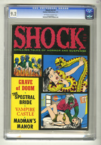 Shock (Magazine) V3#3 (Stanley Publications, 1971) CGC NM- 9.2 Off-white to white pages