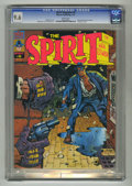 Magazines:Superhero, The Spirit #6 (Warren, 1975) CGC NM+ 9.6 White pages. Squareboundissues begin. Eight pages in color. Will Eisner and Ken Ke...