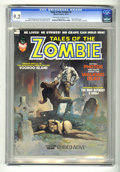 Bronze Age (1970-1979):Horror, Tales of the Zombie #2 (Marvel, 1973) CGC NM- 9.2 Off-white towhite pages. Chris Claremont and Steve Gerber stories. John R...