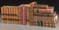 Decorative Arts, Continental, An Assorted Group of Seventeen Decorative Leatherbound Books. ...(Total: 17 Items)