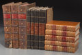 Decorative Arts, Continental, An Assorted Group of Twelve Decorative Leatherbound Books. ...(Total: 12 Items)