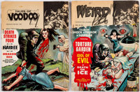Miscellaneous Horror Magazines Group of 2 (Eerie Publications, 1968-69) Condition: Average PR.... (Total: 2 Comic Books)
