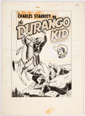 Original Comic Art:Covers, Fred Guardineer Charles Starrett as the Durango Kid #23Cover Original Art (Magazine Enterprises, 1953)....