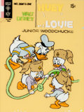 Original Comic Art:Covers, Walt Disney Huey, Dewey, and Louie Junior Woodchucks #9Cover Recreation Original Art (Gold Key, 1971)....