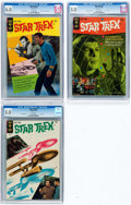 Silver Age (1956-1969):Science Fiction, Star Trek #2-4 CGC-Graded Group (Gold Key, 1968-69).... (Total: 3 Comic Books)