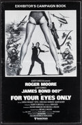 "Movie Posters:James Bond, For Your Eyes Only (United Artists, 1981). Uncut British Pressbook (22 Pages, 9.75"" X 15""). James Bond.. ..."