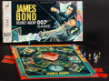 "Movie Posters:James Bond, James Bond Secret Agent 007 Game & Other Lot (Milton Bradley, 1964). (9.5"" X 19"" X 1.5"") Board Games (2). James Bond.. ... (Total: 2 Items)"