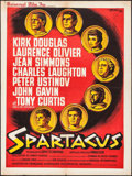 "Movie Posters:Action, Spartacus (Universal International, 1961). French Affiche (23.5"" X31.5""). Action.. ..."