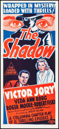 "Movie Posters:Crime, The Shadow (Columbia, R-1950s). Australian Daybill (13.5"" X 30"").Crime.. ..."