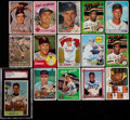 Autographs:Sports Cards, Signed 1950's - 1980's Baseball Card Collection (15) With Mays. ...