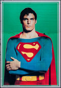 """Movie Posters:Action, Superman the Movie (Warner Brothers, 1978). Mylar Commercial Poster(21"""" X 30""""). Action.. ..."""