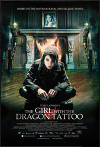 "The Girl with the Dragon Tattoo (Music Box, 2009) DS. One Sheet (27"" X 41). Foreign"