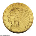 Proof Indian Half Eagles: , 1911 $5 PR67 NGC. The Indian design half eagles, along with quarter eagles, eagles, and double eagles of the same 1908 to 1...