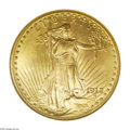 Saint-Gaudens Double Eagles: , 1912 $20 MS65 NGC. As befits the limited original mintage of fewerthan 150,000 pieces, the 1912 is a conditionally scarce ...