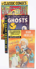 Silver Age (1956-1969):Classics Illustrated, Classics Illustrated Group of 17 (Gilberton, 1940s-60s) Condition:Average FN-.... (Total: 17 Comic Books)