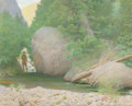 Fine Art - Painting, American:Modern  (1900 1949)  , Frank Vincent Dumond (American, 1865-1951). Trout Rock. Oilon canvas. 24 x 30 inches (61.0 x 76.2 cm). Signed lower lef...