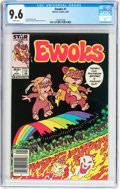 Modern Age (1980-Present):Science Fiction, Ewoks #1 (Marvel, 1985) CGC NM+ 9.6 White pages....