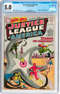 Silver Age (1956-1969):Superhero, The Brave and the Bold #28 Justice League of America (DC, 1960) CGCVG/FN 5.0 Cream to off-white pages....