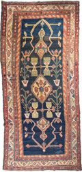 Rugs & Textiles:Other , A Kurdish Corridor Carpet, Northwest Persia, circa 1910. 13 feet4-1/2 in. long x 6 feet 1 in. wide. ...