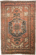 Rugs & Textiles:Carpets, A Heriz Carpet, Northwest Persia, circa 1910. 14 feet 9 in. long x10 feet 2 in. wide. ...